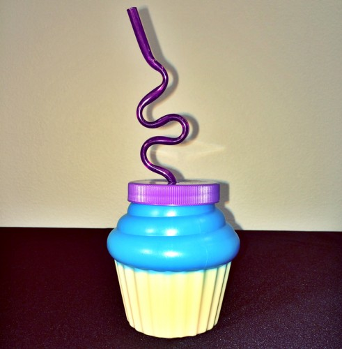 Cupcake drink cup at Purple Zebra
