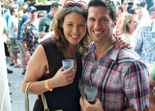 A couple at the Great Vegas Festival of Beer in 2011