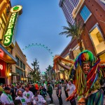 The Linq on St. Patrick's Day 2014 by Erik Kabik.