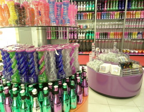 Purple Zebra's massive selection of drink vessels