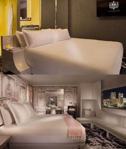 Story Superior King and Lux Luxury King Suite at SLS Las Vegas
