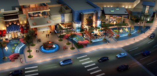 "A rendering of the new ""restaurant row"" at Red Rock Casino, Resort & Spa"