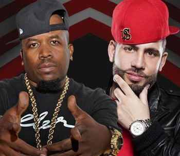 Big Boi and DJ Drama at Chateau Nightclub