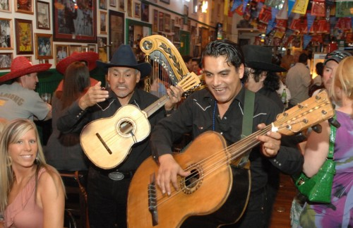 The Rock 'n' Roll Mariachi Band at Hussong's Cantina