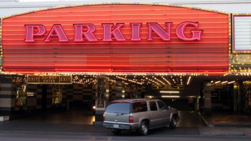 Valet parking at the Fremont Hotel & Casino