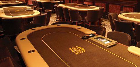 The poker room at the Golden Nugget offers lessons