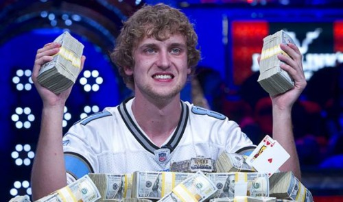 Ryan Riess 2013 WSOP Main Event winner