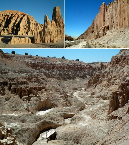 Photos of Cathedral Gorge State Park by Andy Blanchard