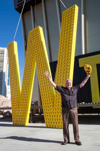 David Siegel, founder and CEO of Westgate Resorts, intends to install the tallest signage letters on any marquee in the city at the Westgate Las Vegas Resort & Spa