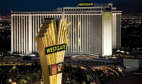 Exterior rendering of the Westgate Las Vegas Resort & Spa