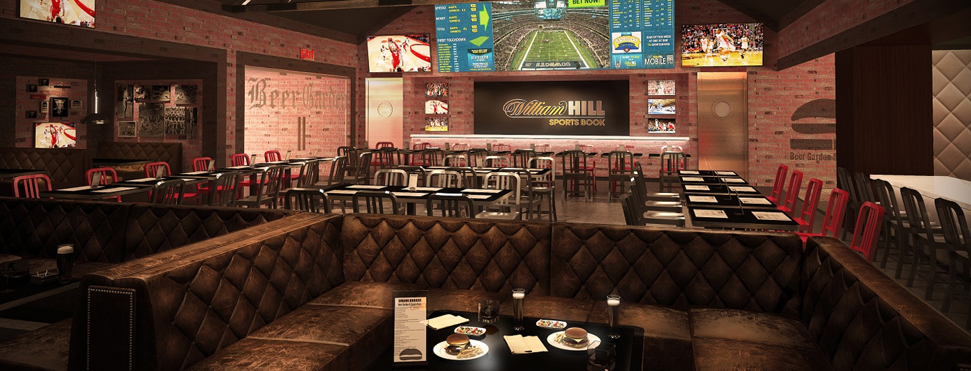 William Hill Sports Book at SLS Las Vegas