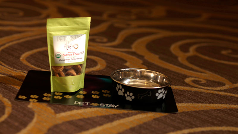 PetStay amenities available at Caesars Entertainment properties.