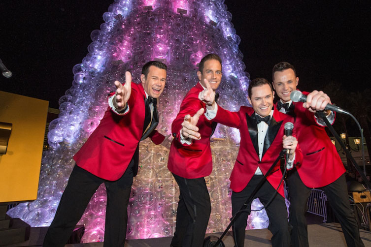 "Human Nature is presenting a special ""Christmas Motown and More!"" show at The Venetian"