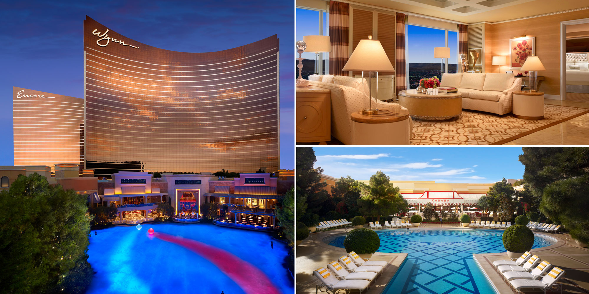 Wynn Las Vegas combined photos