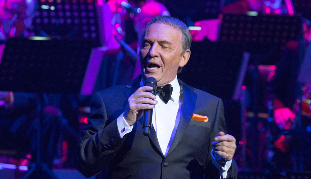 Bob Anderson as Frank Sinatra photo courtesy of The Palazzo Las Vegas