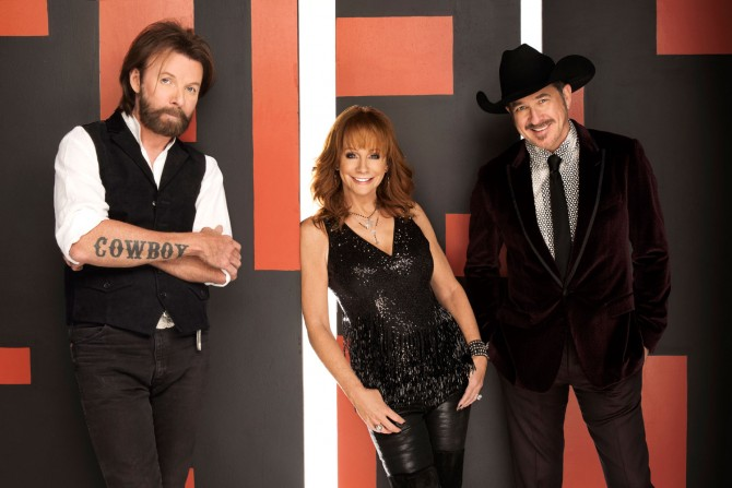 Reba, Brooks and Dunn bring a boot-scootin' good time to The Colosseum