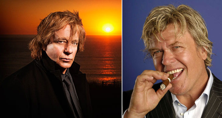 From left: Eddie Money and Ron White
