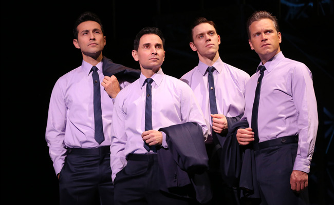 The Jersey Boys pondering into another epic Vegas weekend.