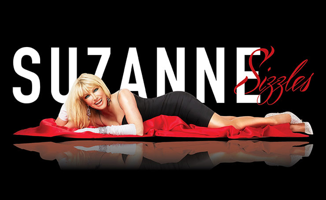 Suzanne Somers is bringing the heat to the Westgate Las Vegas