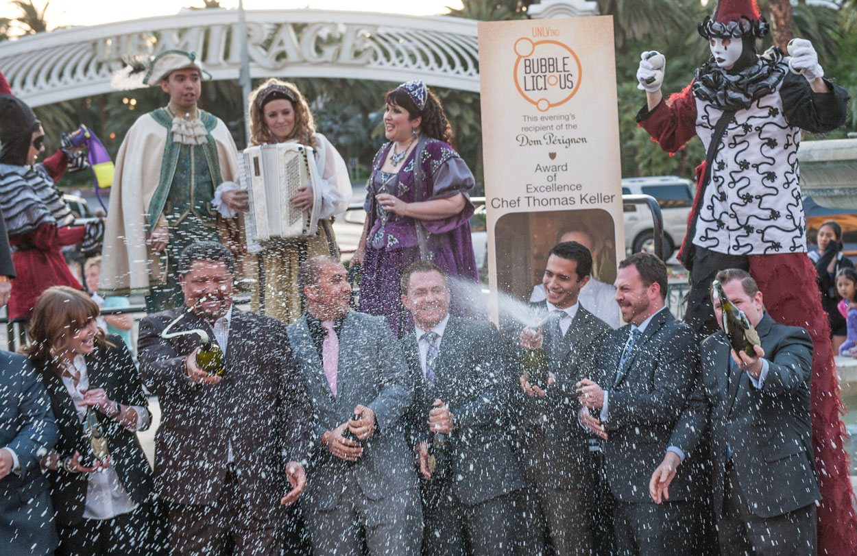 Champagne corks were flying at Bubble-Licious in 2013