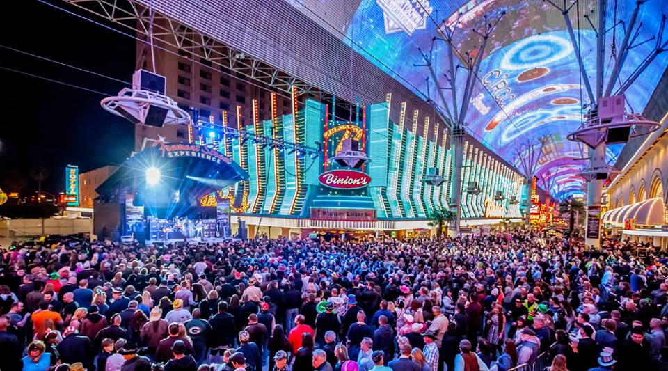 Fremont Street Experience in Las Vegas | This is a light
