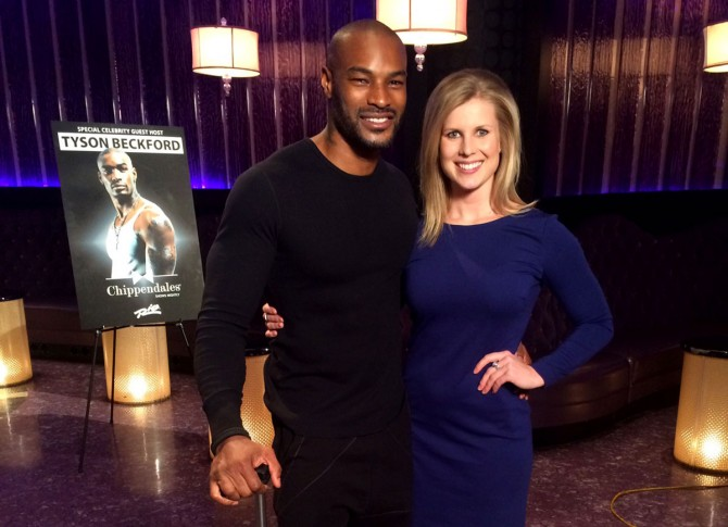 Tyson Beckford reveals the details of his Chippendales' appearance