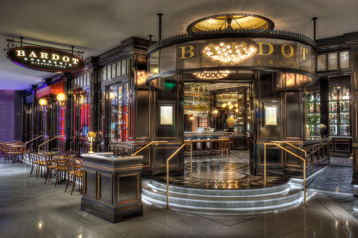 Bardot Brasserie, photo courtesy of Michael Mina.