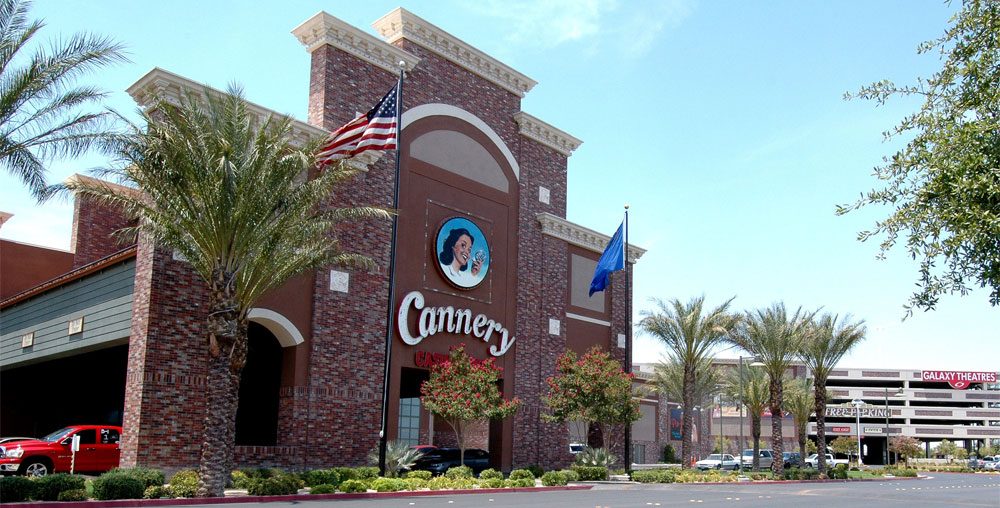 Photo of the Cannery Casino Hotel courtesy of Cannery Casino Resorts.