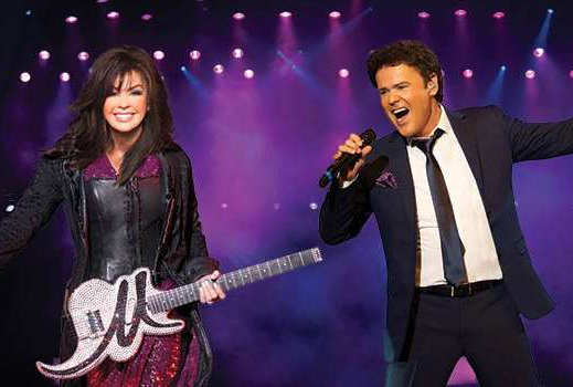 Q&A with Donny and Marie Osmond