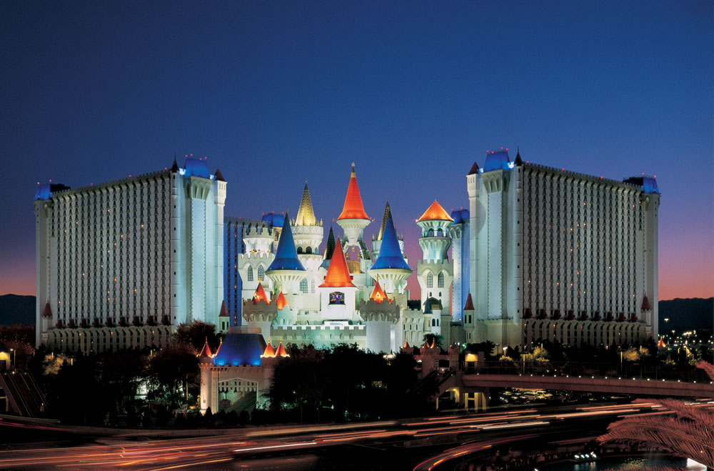 Photo of Excalibur courtesy of MGM Resorts International.