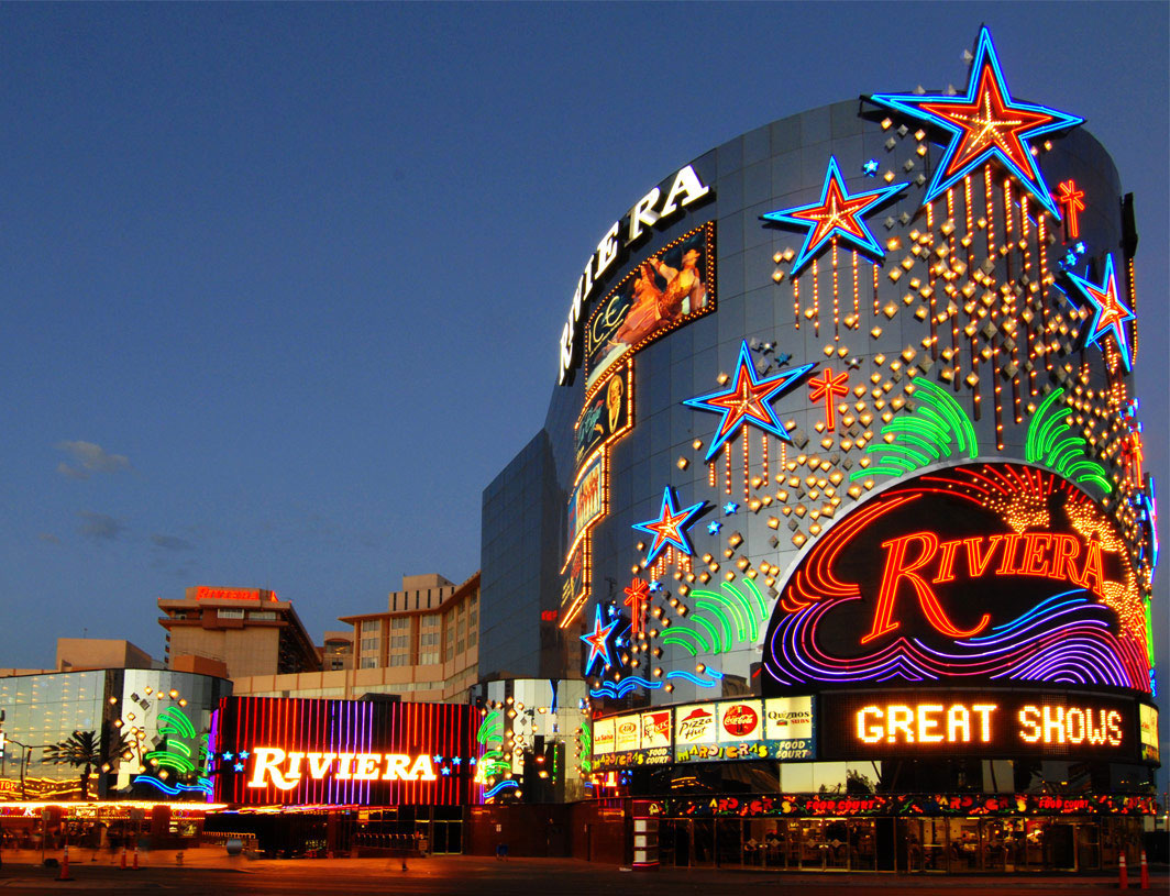 Contents of the historic riviera to be offered in a for Riviera resort las vegas