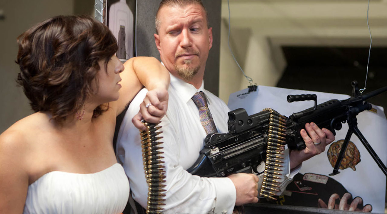 Shotgun Weddings at The Gun Store