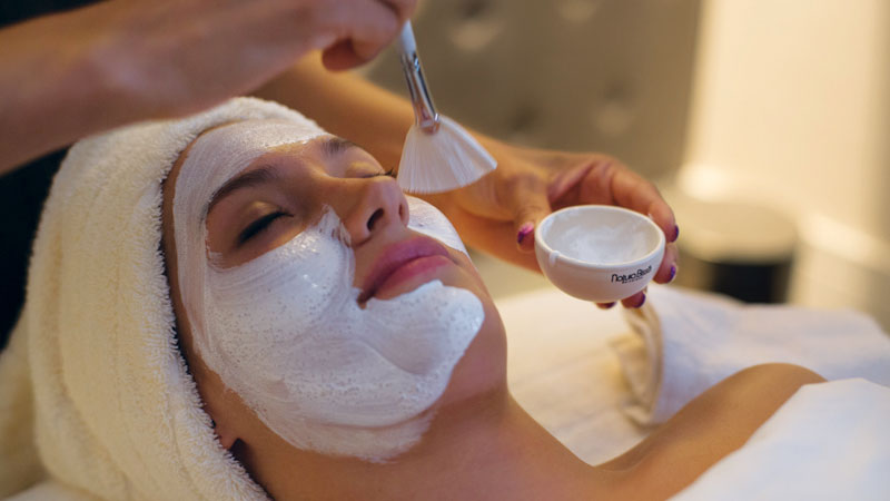 Soothe your fatigued skin with a facial from the new menu in The Spa at Trump. Photo courtesy Trump Interanional Hotel Las Vegas.