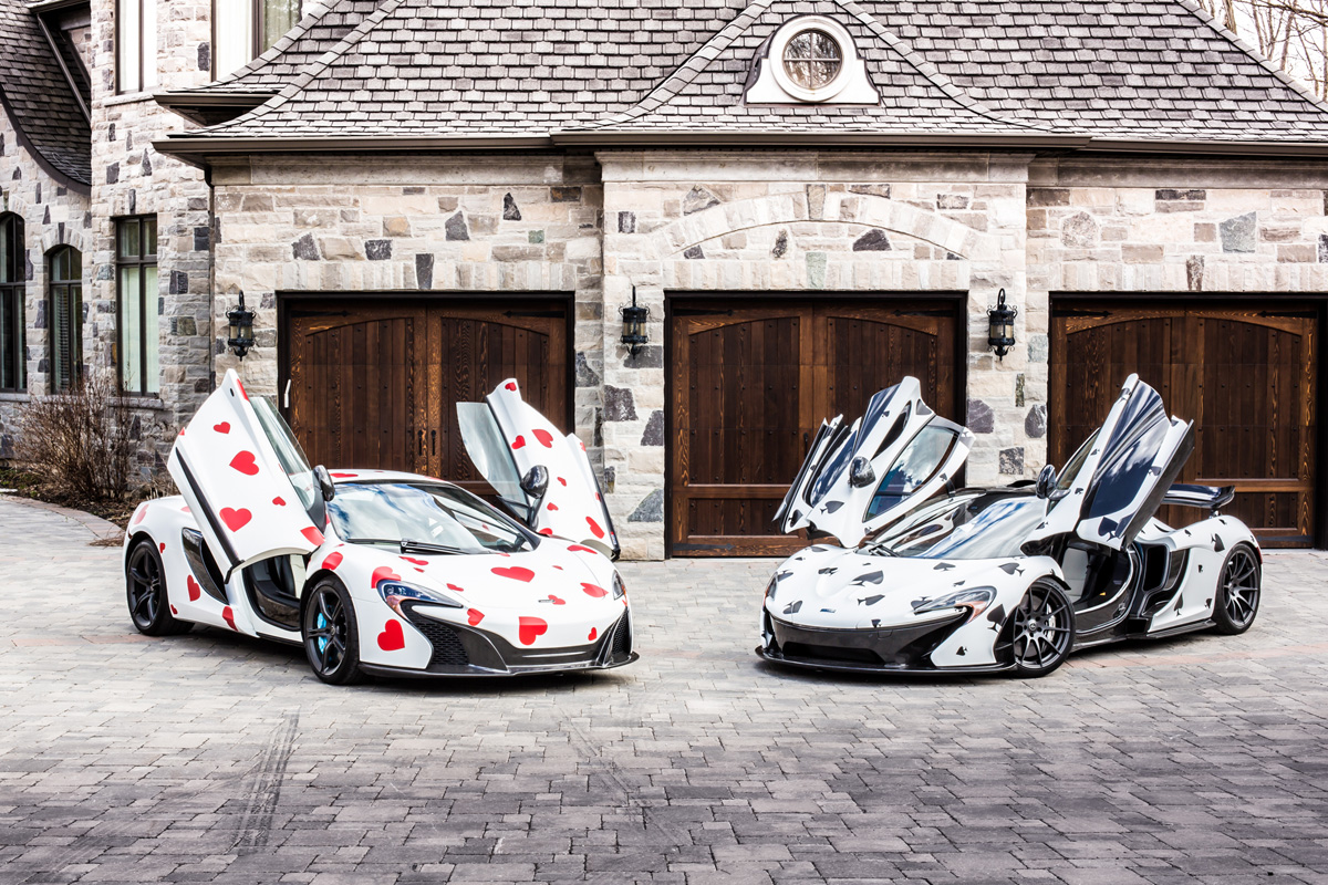 deadmau5's McLarens Photo Credit: Angelo Madrasto of Sekanskin