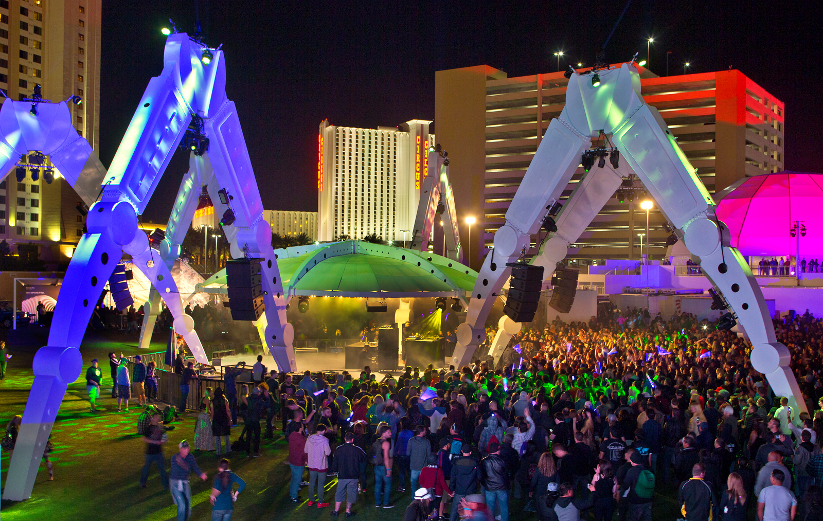 EDM Stage photo courtesy of the Las Vegas Sun