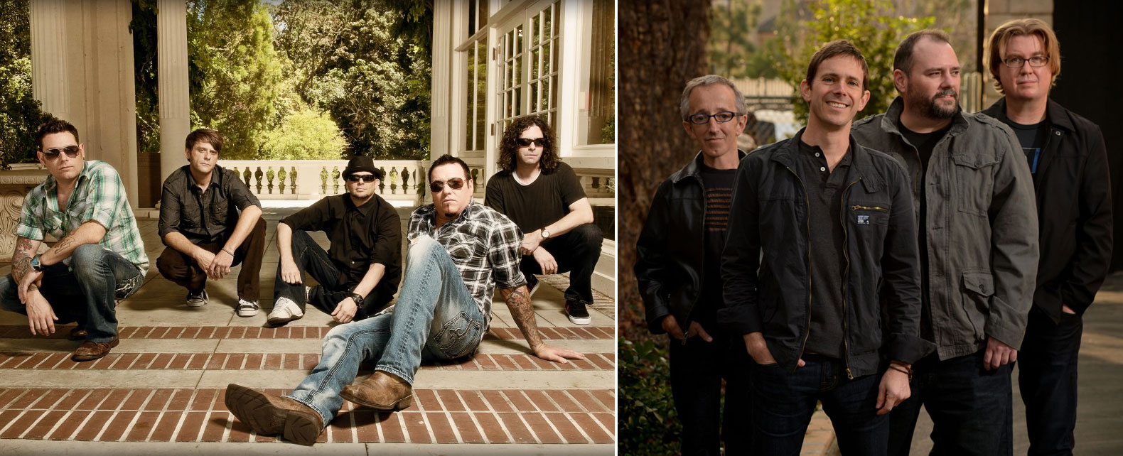 The weekend's Rock of Vegas features Smash Mouth and Toad the Wet Sprocket