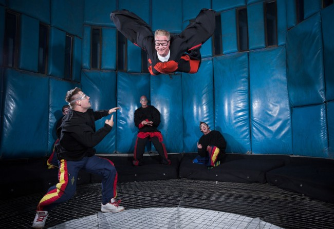 Photo courtesy of Vegas Indoor Skydiving