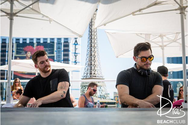 Adventure Club all over up at Drai's Beach Club. Photo courtesy of Drai's Beach Club.