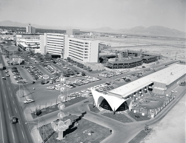 La Concha from 11/6/1963. Photo Courtesy of Las Vegas News Bureau