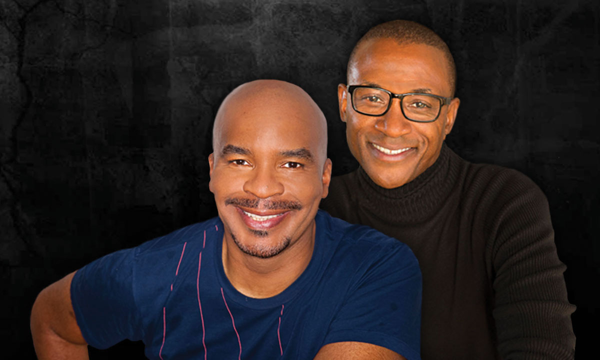 David Alan Grier and Tommy Davidson