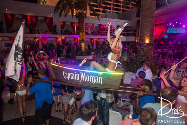 No matter how much you drink, please don't start talking like a pirate. You will annoy everyone. Photo courtesy of Drai's.
