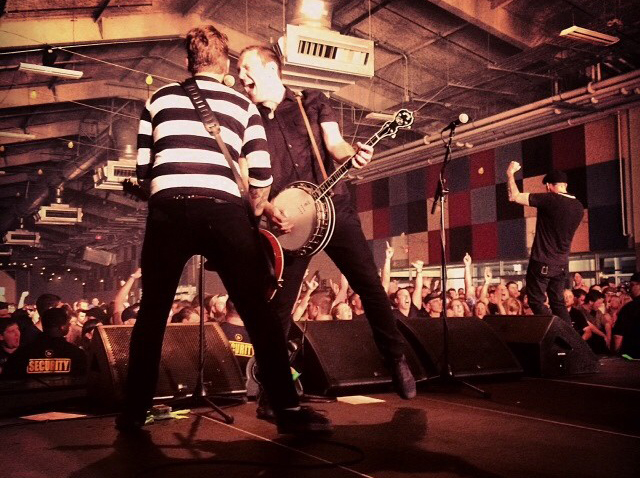 Dropkick Murphys being as awesome as ever. Photo courtesy of Dropkick Murphys.