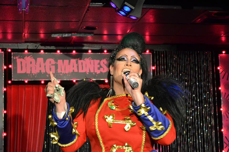 This is actually from their Drag Madness show. But if you look this good you'll be welcome at karaoke. Photo courtesy of FreeZone.