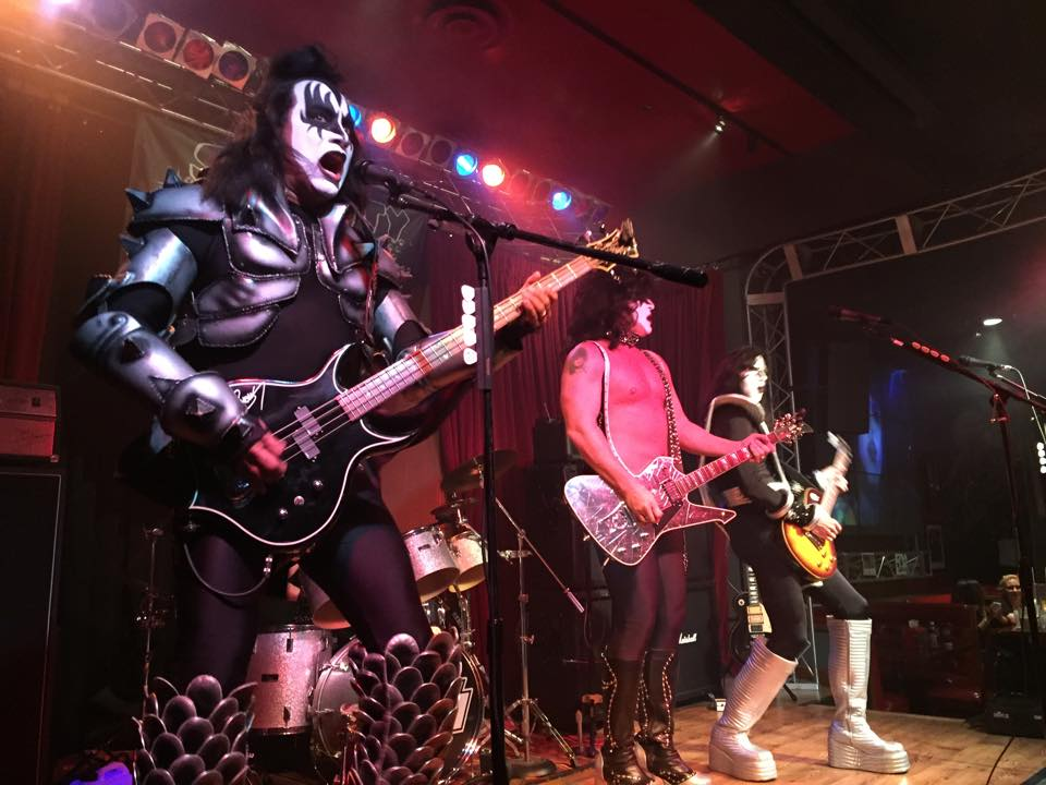 This is just a KISS cover band. You're welcome. Photo courtesy of Vince Neil's Tatuado.