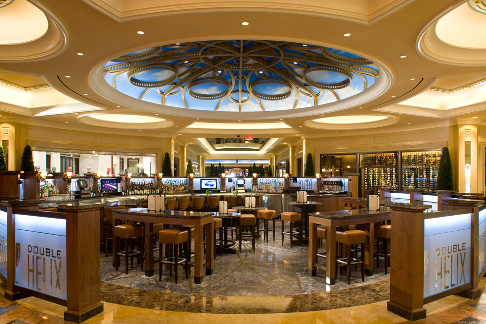The place for wine in the Palazzo shops. Photo courtesy of Double Helix Wine & Whiskey Bar.
