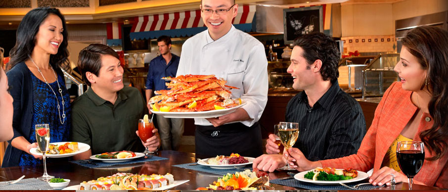 Over-the-top dining in Vegas   Las Vegas Blogs