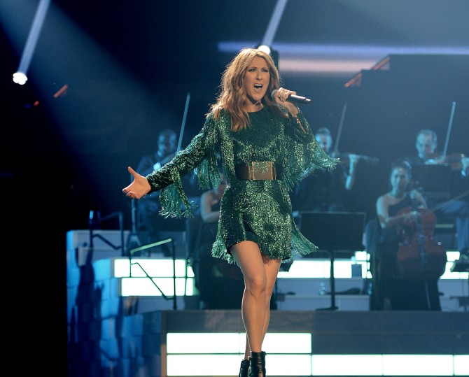 Celine brings her musical magic back to Las Vegas