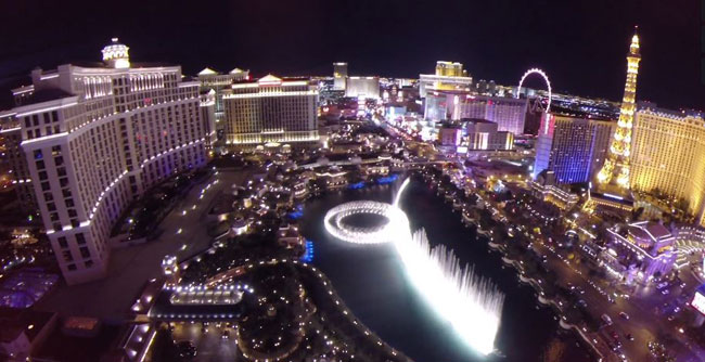 Drone this way: Our favorite Las Vegas drone videos