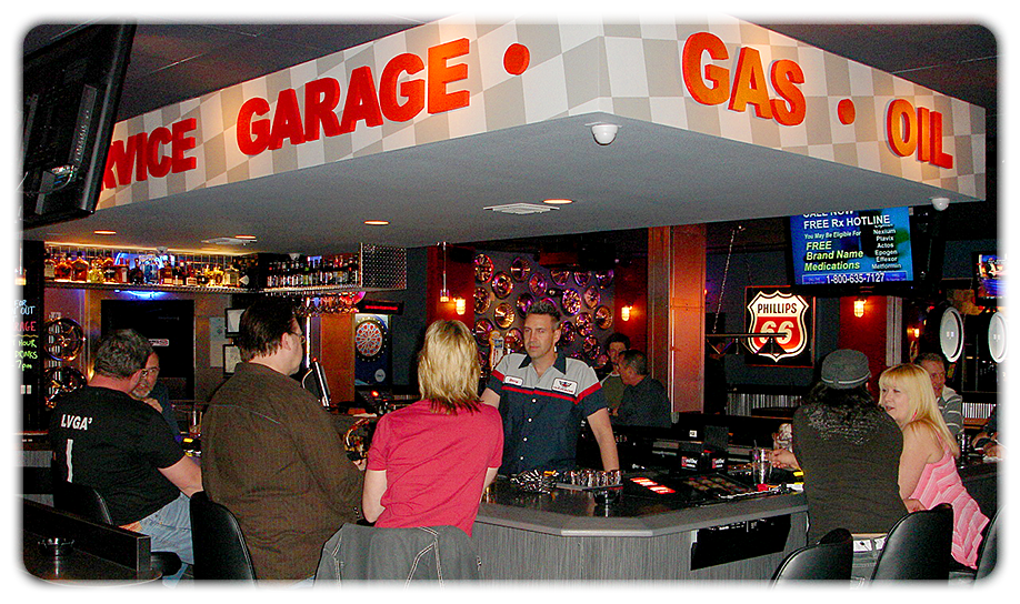 Everyone can enjoy the atmosphere at the Garage. Photo courtesy of the Garage.
