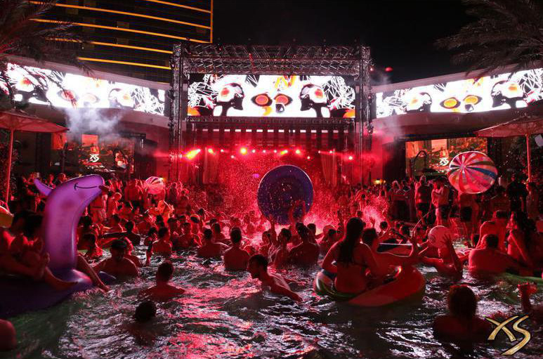 Your idea of excessive and Las Vegas' idea of excessive are two very different things. Photo courtesy of XS Nightclub.